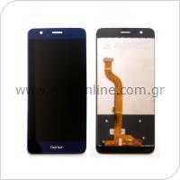 Γνήσια Οθόνη με Touch Screen Huawei Honor 8 Μπλε