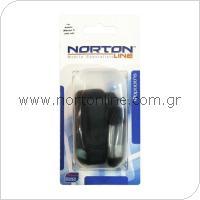 Σετ Φορτιστής Ταξιδίου με Διπλή Έξοδο USB 1.0A + Καλώδιο Σύνδεσης USB Lightning Μαύρο
