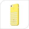 Θήκη Silicon Apple MF038 iPhone 5C Κίτρινο