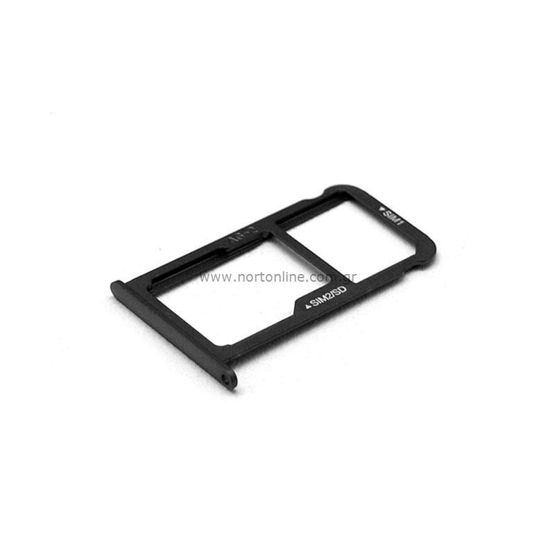 Huawei P10 Sd Karte.Original Sim Sd Card Holder Huawei P10 Dual Sim Graphite Black