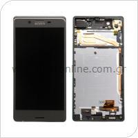 Οθόνη με Touch Screen & Μπροστινή Πρόσοψη Sony Xperia X Μαύρο