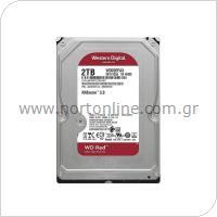 Western Digital Red NAS HDD 3.5'' SATA 2TB (Ασυσκεύαστο)