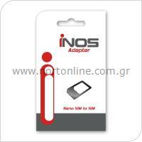 Αντάπτορας inos Nano SIM σε SIM