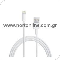 Kαλώδιο Σύνδεσης Apple MD818 USB A σε Lightning 1m