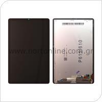 Οθόνη με Touch Screen Samsung P610 Galaxy S6 Lite Wi-Fi/ P615 Galaxy S6 Lite 4G Μαύρο (Original)