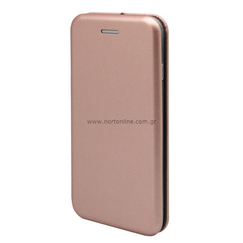 Flip Book Case inos Xiaomi Mi 5X/ Mi A1 Curved M-Folio Rose