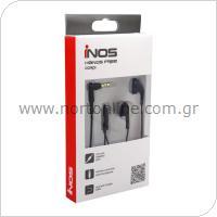 Hands Free Stereo inos 3.5mm Cordi Μαύρο