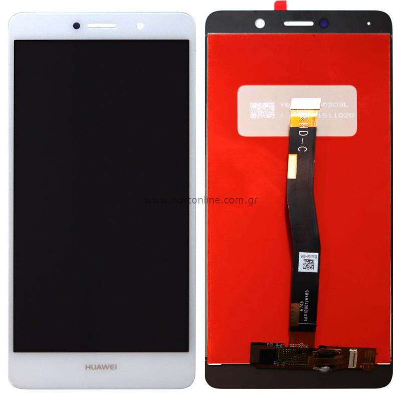Original LCD with Touch Screen Huawei Honor 6X White