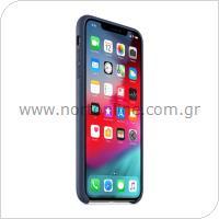 Θήκη Δερμάτινη Apple MRWN2 iPhone XS/ iPhone X Σκούρο Μπλε
