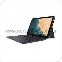 Laptop - Tablet 2in1 Lenovo IdeaPad Duet Chromebook 10.1'' 128GB 4GB RAM WiFi Γκρι-Μπλε