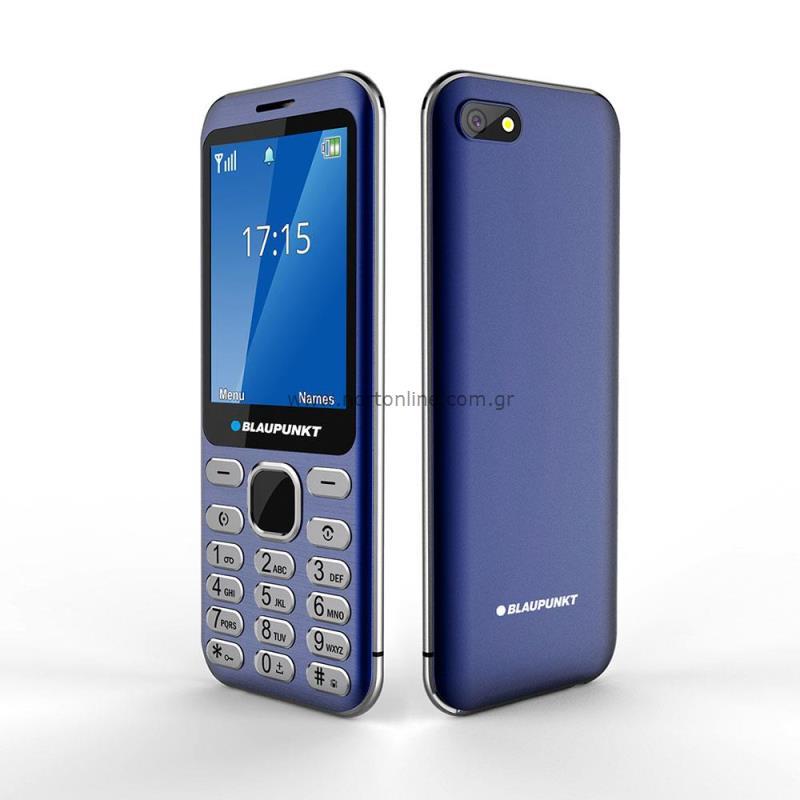 df31a505fce Κινητό Τηλέφωνο Blaupunkt FL02 (Dual SIM) Μπλε - Απλής Χρήσης - Blaupunkt -  Κινητά & Tablet - NortonLine - Mobile Accessories
