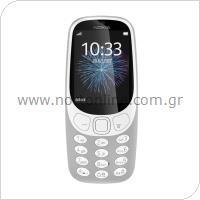 Κινητό Τηλέφωνο Nokia 3310 (2017) (Dual SIM) Γκρι