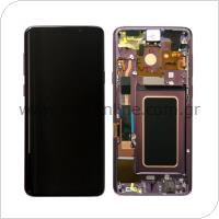 Γνήσια Οθόνη με Touch Screen Samsung G965F Galaxy S9 Plus Μωβ