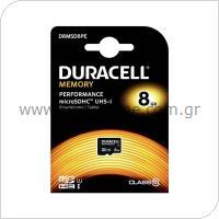 Κάρτα μνήμης Micro SDHC C10 UHS-I U1 Performance Duracell 95MB/s 8Gb
