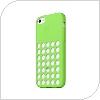Θήκη Silicon Apple MF037 iPhone 5C Πράσινο