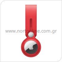 Δερμάτινο Loop Apple MK0V3 AirTag Κόκκινο
