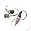 Hands Free Stereo Sony Ericsson HPM-70 Ασημί
