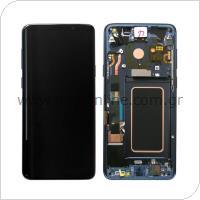 Γνήσια Οθόνη με Touch Screen Samsung G965F Galaxy S9 Plus Μπλε