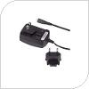 Φορτιστής Ταξιδίου BlackBerry Micro USB με Αντάπτορες Πρίζας (NA/EU) 700mAh (Ασυσκεύαστο)