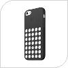 Θήκη Silicon Apple MF040 iPhone 5C Μαύρο