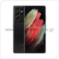 Κινητό Τηλέφωνο Samsung G998B Galaxy S21 Ultra 5G (Dual SIM) 128GB 12GB RAM Μαύρο