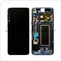 Γνήσια Οθόνη με Touch Screen Samsung G960F Galaxy S9 Μπλε