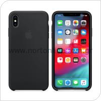 Θήκη Silicon Apple MRW72 iPhone XS/ iPhone X Μαύρο