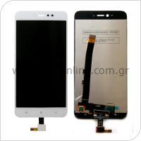 Γνήσια Οθόνη με Touch Screen Xiaomi Redmi Note 5A Prime (Dual SIM) Λευκό