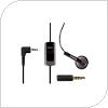 Hands Free Nokia HS-40/AD-53 2.5mm/3.5mm Μαύρο (Ασυσκεύαστο)
