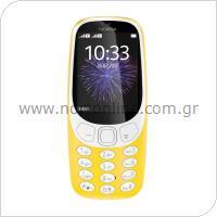 Κινητό Τηλέφωνο Nokia 3310 (2017) (Dual SIM) Κίτρινο