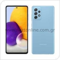 Κινητό Τηλέφωνο Samsung A725F Galaxy A72 4G (Dual SIM) 128GB 6GB RAM Μπλε