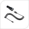 Γνήσιος Φορτιστής Αυτοκινήτου HTC CC C200 1.0Α & Καλώδιο Micro USB 1m (Ασυσκεύαστο)